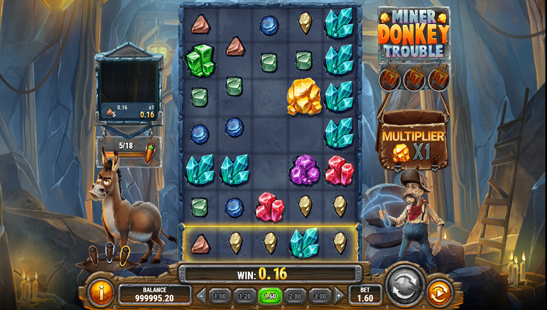 Looking at Play'n GO's New Miner Donkey Trouble Slot
