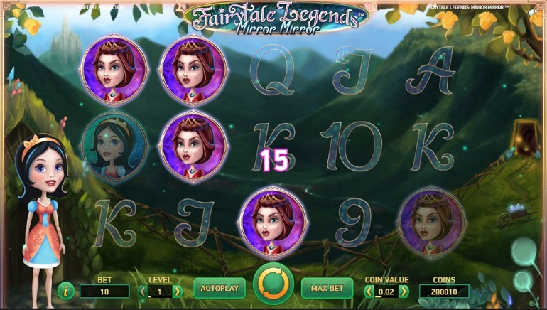 NetEnt Releases Fairytale Legends: Mirror Mirror