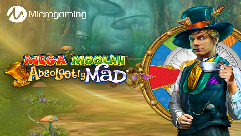 New Jackpot Slot Mega Moolah Absolootly Mad Set to Go Live