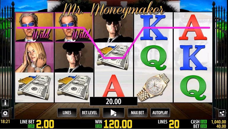 Slot Review: Mr Moneymaker HD from World Match