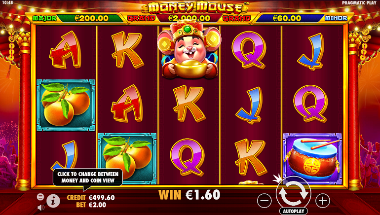 Pragmatic Play Celebrates the Chinese New Year with the Launch of Money Mouse™ Slot Game