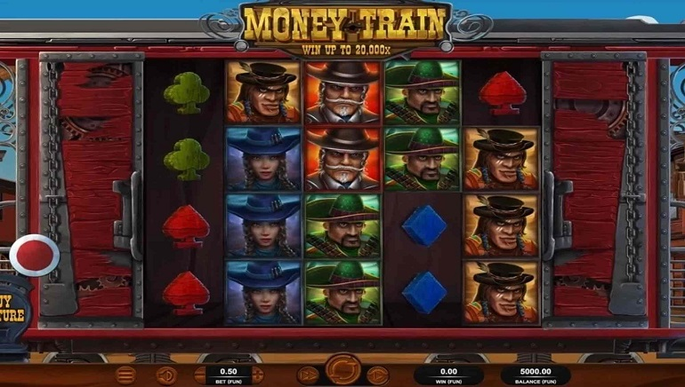 All Aboard the Money Train Slot from Relax Gaming