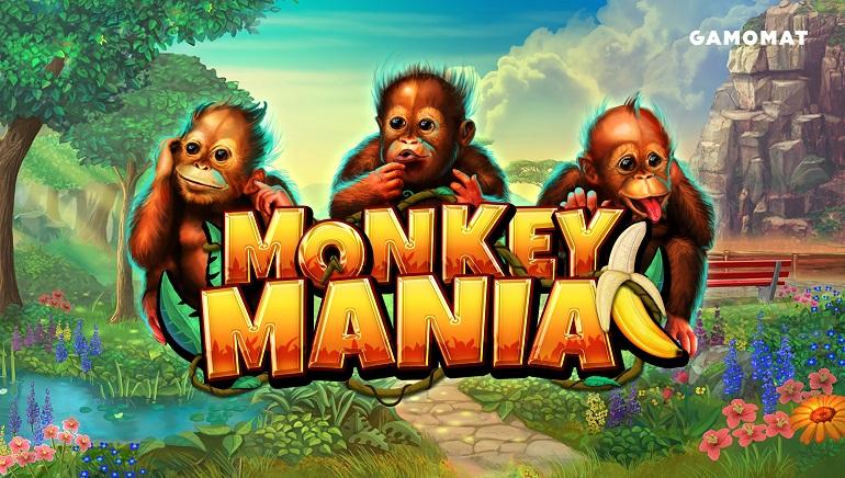 GAMOMAT's Monkey Mania Slot Swings into Town!