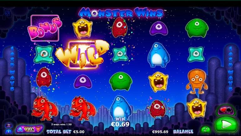NextGen's New Slot Monster Wins Delivers Massive Wins