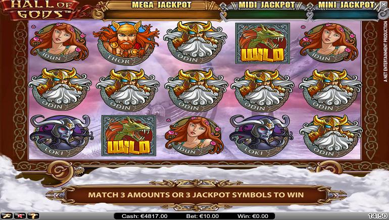 NetEnt Casino Player Wins €7.5m Hall of Gods Jackpot
