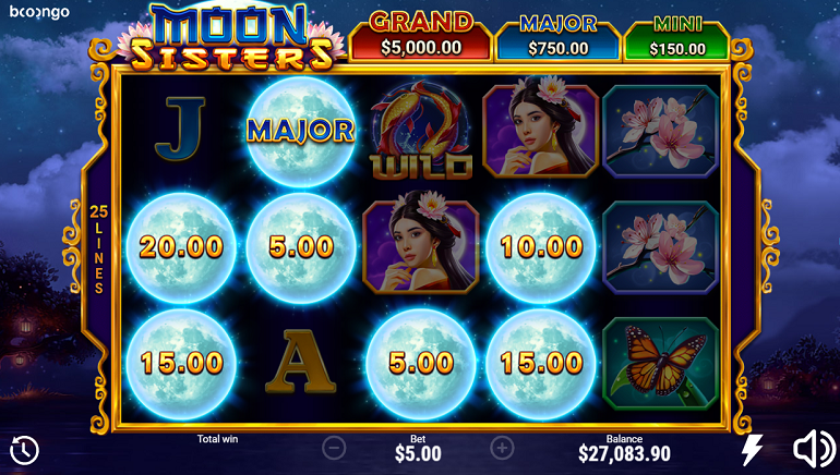 Shining A Light On The New Moon Sisters Slot From Booongo