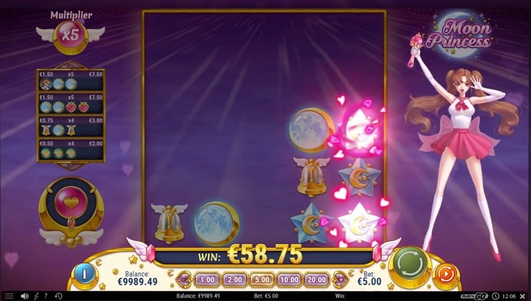Releasing Today: Play'n GO's Moon Princess Slot