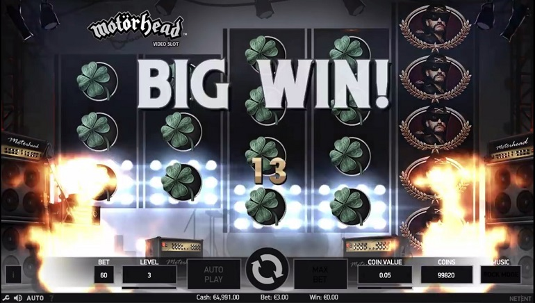 If You Like to Gamble, NetEnt Is Your Man: Motorhead Slot Releases