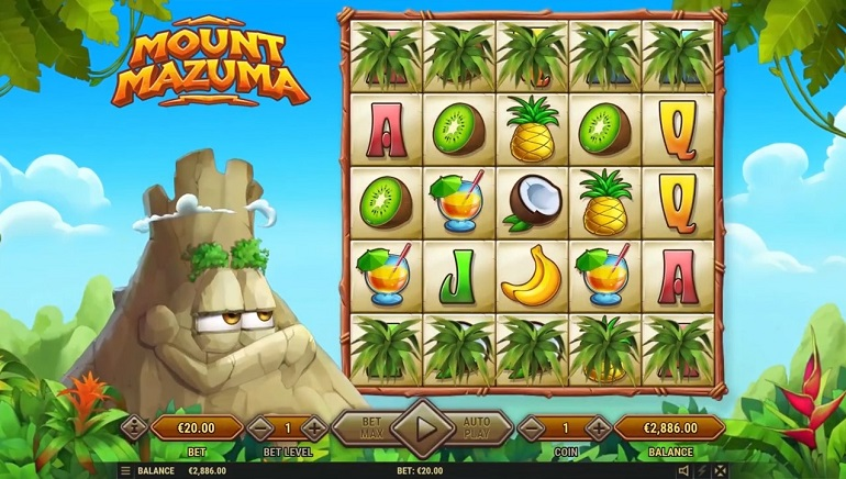 Mount Mazuma Slot Arrives at Habanero Casinos