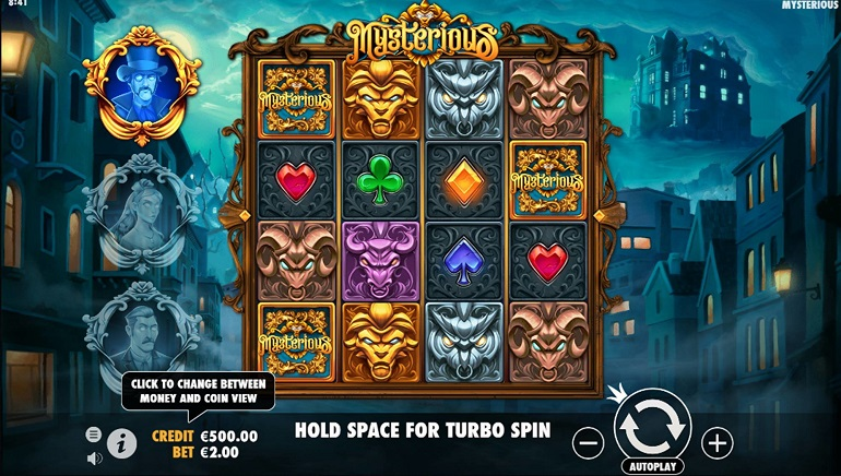 Ghostly Characters Haunt The Mysterious Slot From Pragmatic Play
