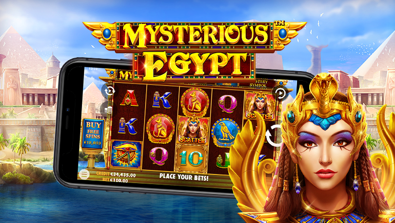Search for Riches of Pharaohs With Pragmatic Play's New Mysterious Egypt Slot