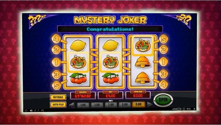 Play'n GO Releases Mystery Joker 6000 Slot