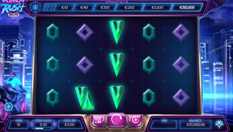 Yggdrasil's Neon Rush Splitz™ Unleashes Max Rewards up to 25,000x