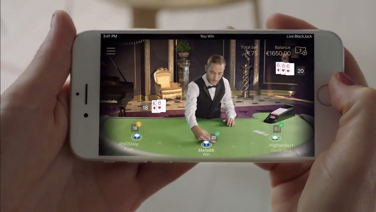 NetEnt Introduces New Mobile-first Live Blackjack Tables