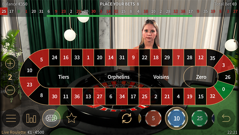 NetEnt Live Enhances User Interface for Mobile Roulette Players