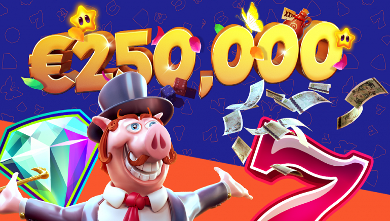 Grab Your Share of €250,000 Playing at Cleopatra Casino This March