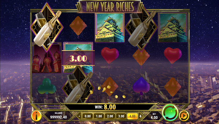 Kick Off the New Year with Play'n GO's Fun, Festive Slot, New Year Riches