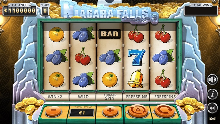 Yggdrasil's Niagara Falls Slot Debuts with Cascading Coins Feature