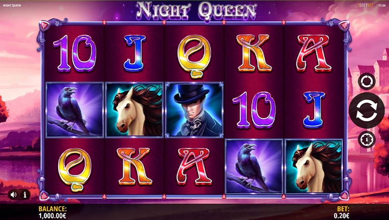 iSoftBet Goes Gothic with Night Queen Slot Release