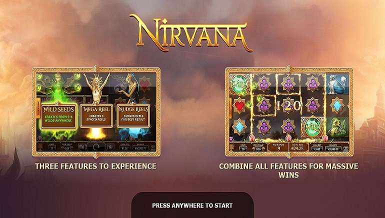 Yggdrasil Gaming Releases New Slot: Nirvana