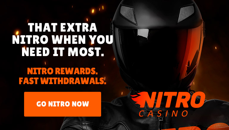 NitroCasino Leads the Way with Nitro Rewards and Fast Withdrawals