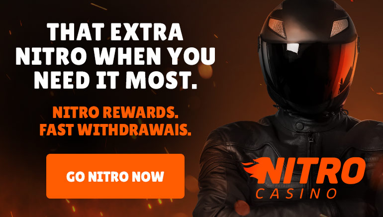 Check Out Nitro Casino's Nitro Speed Transactions and Daily Rewards