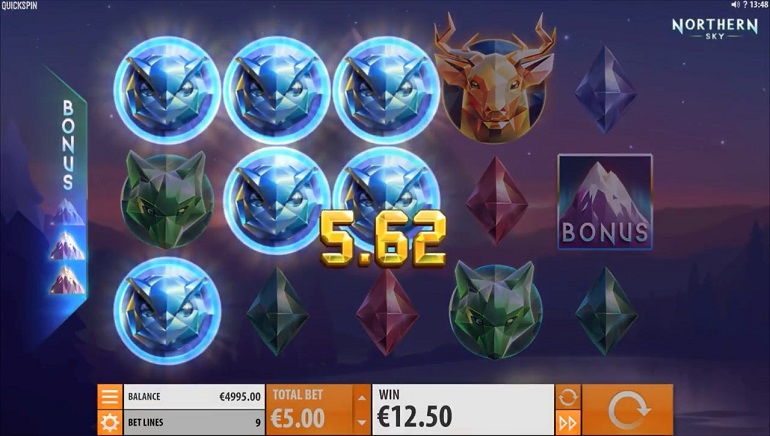 Quickspin's Northern Sky Slot Dazzles Players With Alaskan Beauty