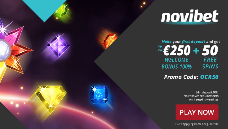 Start Big with an Exclusive Welcome Bonus at Novibet Casino