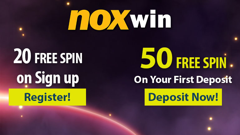 20 No Deposit Free Spins at Noxwin Casino