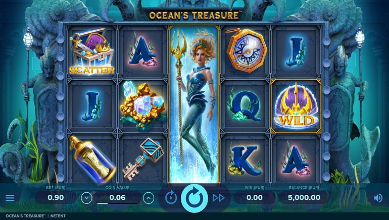 Slot Review: Ocean's Treasure by NetEnt