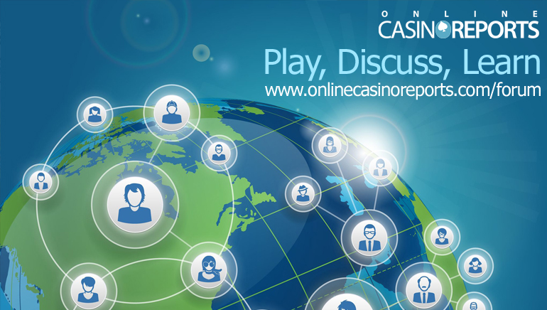OnlineCasinoReports Launches New Forum