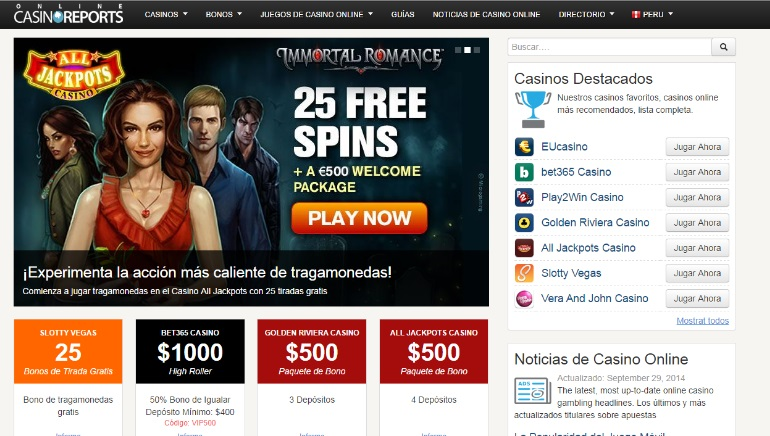New Online Casino Reports Site Launched for Peruvian Players