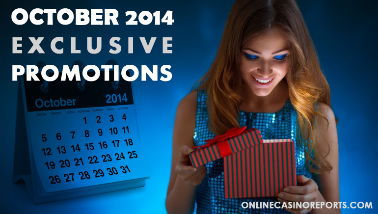 OCR Players Only: Exclusive October Bonus Offers