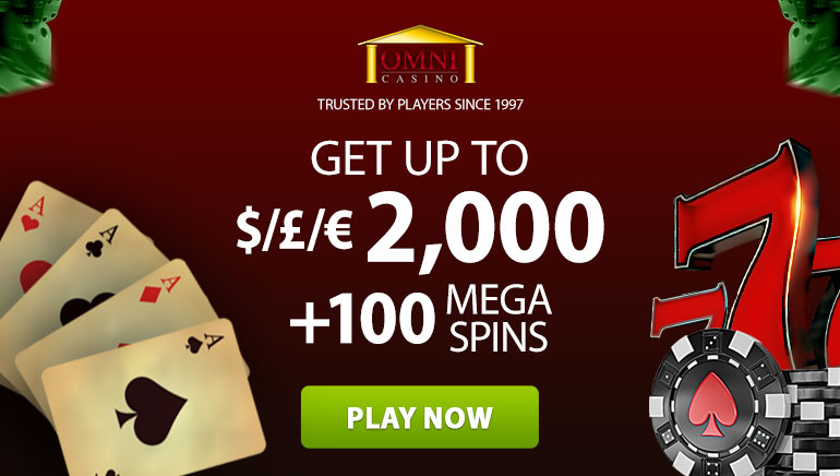 Join Omni Casino Festivities with Awesome $2000 Welcome Bonus