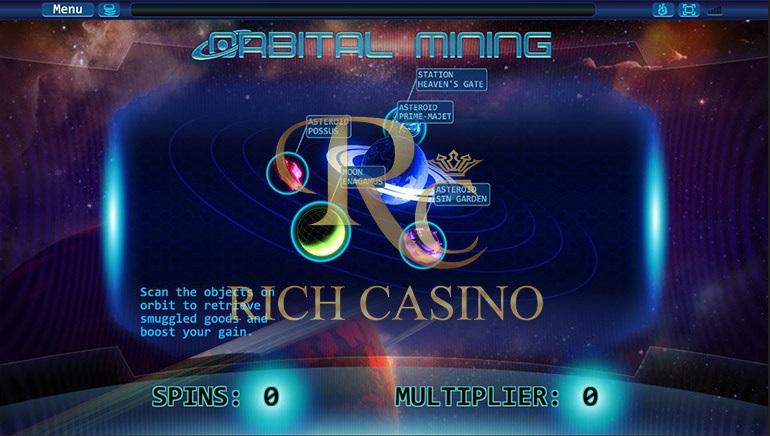 Orbital Mining Debuts at Rich Casino