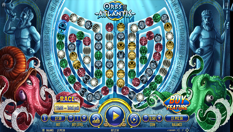 Dive Into New Orbs Of Atlantis Online Slot From Habanero
