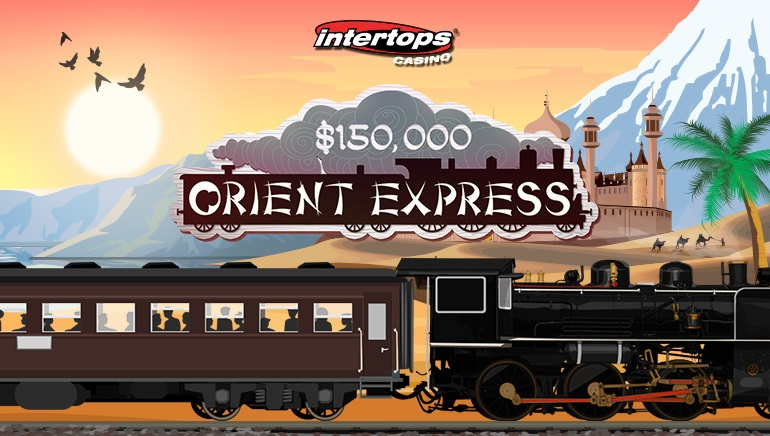 The $150,000 Orient Express Bonus Competition has Begun at Intertops Casino