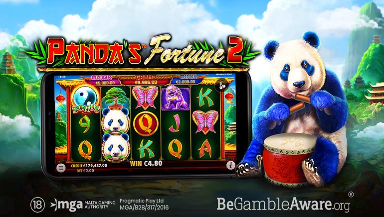 Pragmatic Play Releases All-New Serene Adventure In Panda's Fortune 2