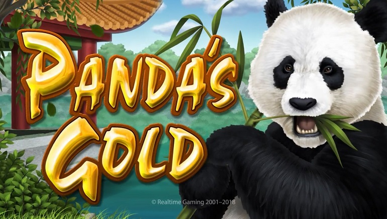 Panda's Gold Slot is New from Real Time Gaming