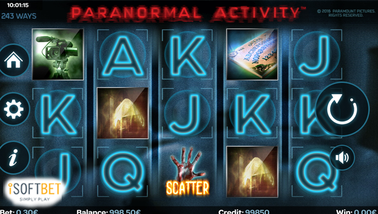 Experience the Horror With New Paranormal Activity Slot by iSoftBet