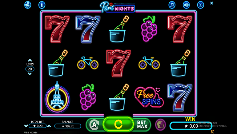 Experience the City of Lights in Booming Games' New Paris Nights Slot