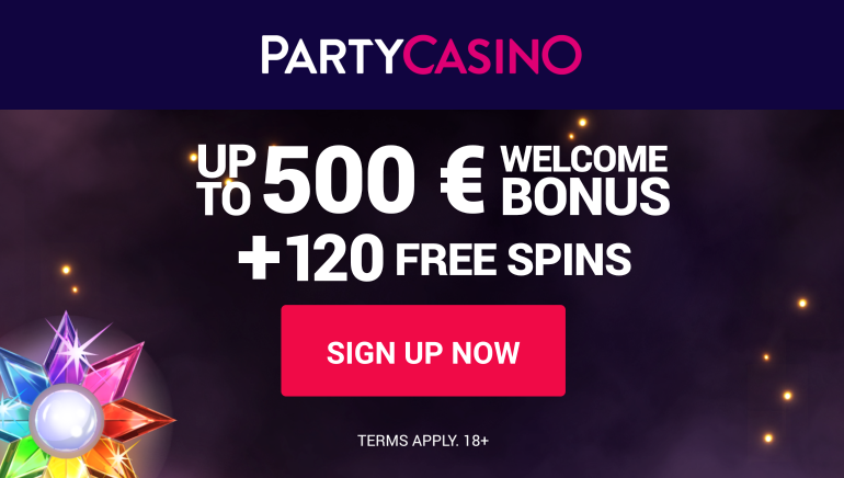 Party Casino EURO Offer