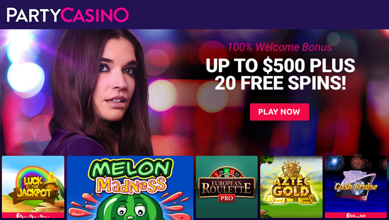 Fully Redesigned PartyCasino Opens Its Doors