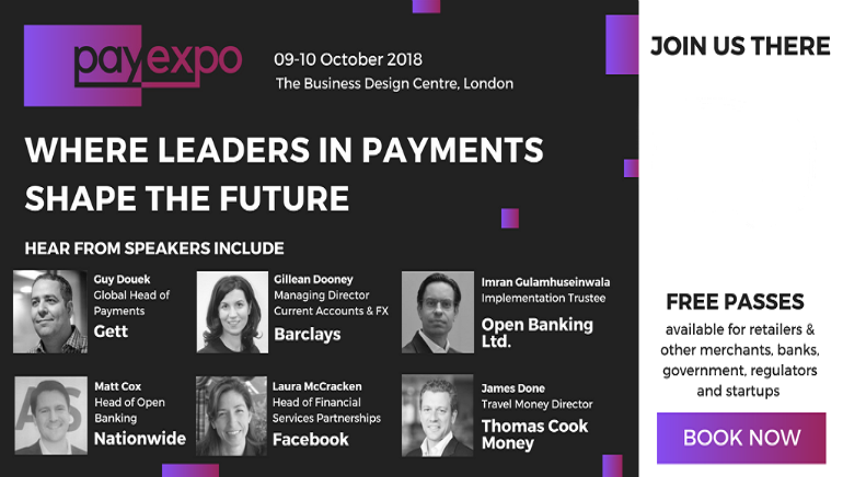 Pay Expo 2018 to Take Place in London This October