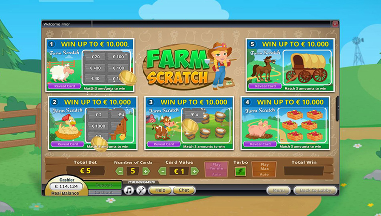 ScratchMania $7 Free No Deposit Bonus To Play Slots And Instant Win Games From NetoPlay