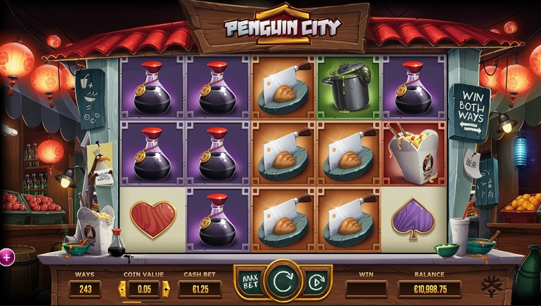 Escape Penguin City in New Slot at Yggdrasil Casinos