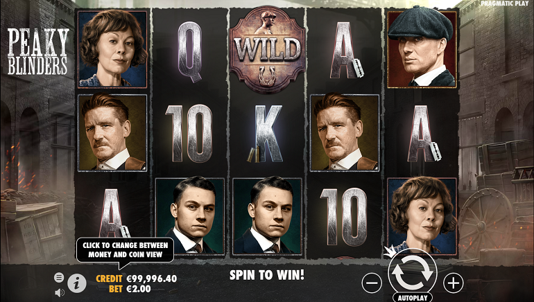 Peaky Blinders Slot Now Showing at Pragmatic Play Casinos