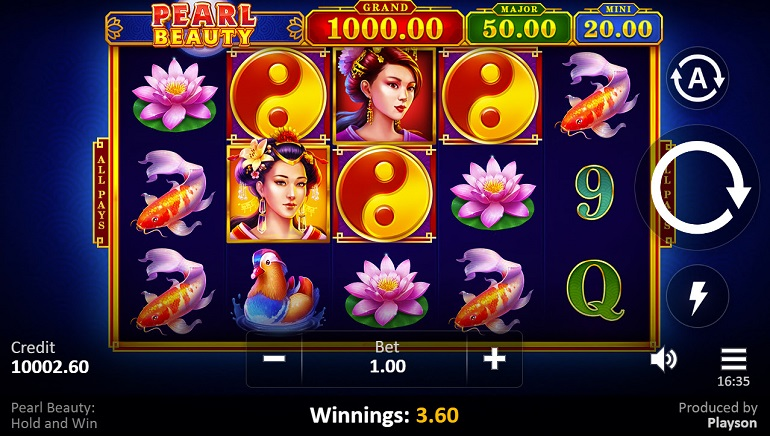 Playson Celebrates New Pearl Beauty: Hold and Win Slot
