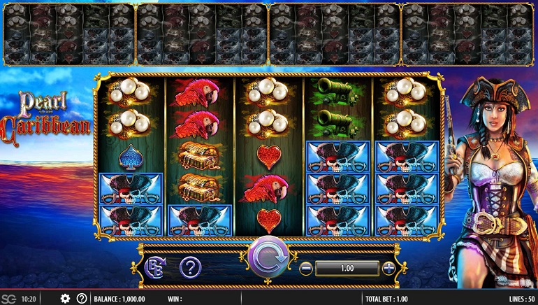 Slot Review: Pearl of the Caribbean by Barcrest