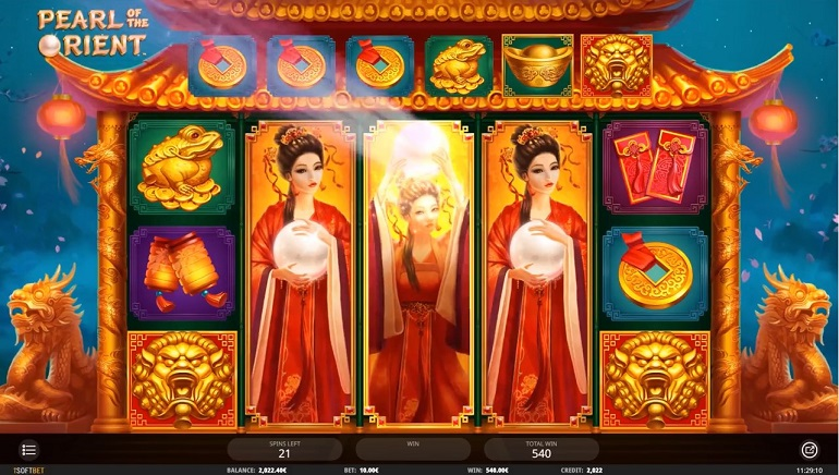 The World Is Your Oyster With iSoftBet's Pearl Of The Orient Slot
